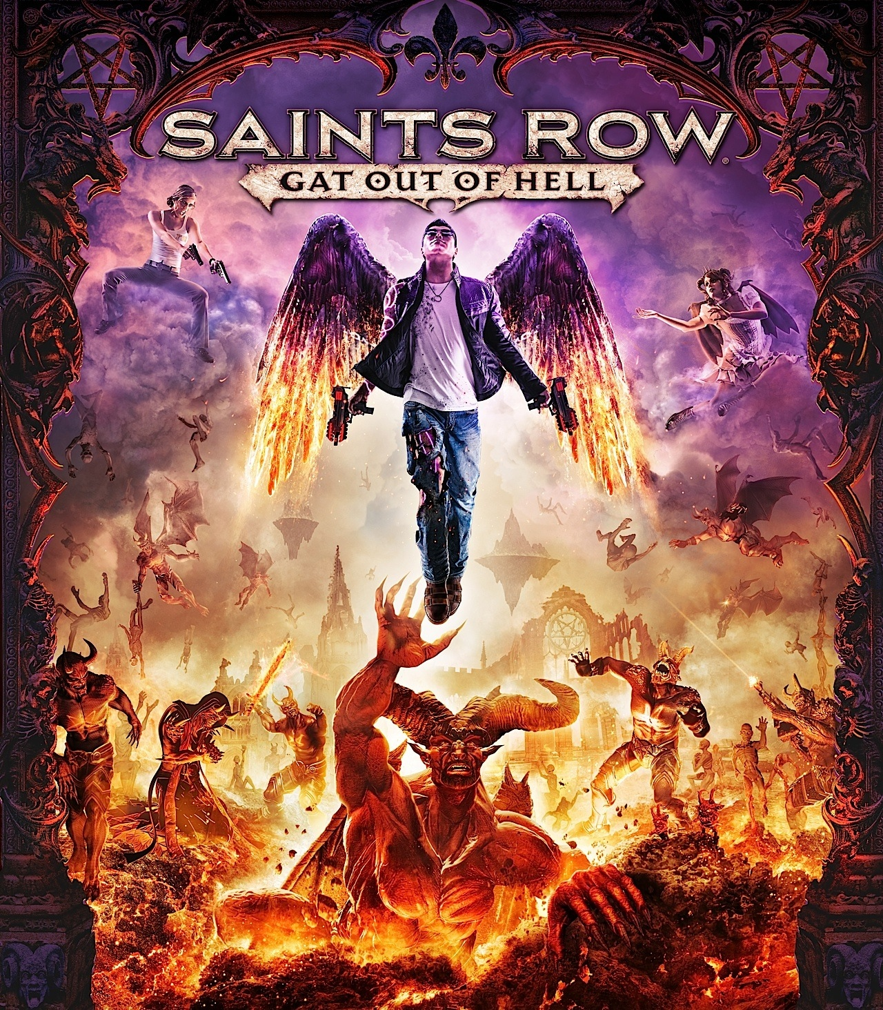 Saints Row - Gat out of Hell (2015) PC | RePack от xatab